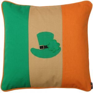 Irish Pillow shamrock